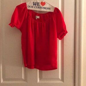 Red madewell top